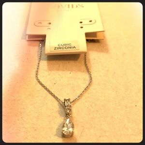 Cubic Zirconia Necklace from David's Bridal